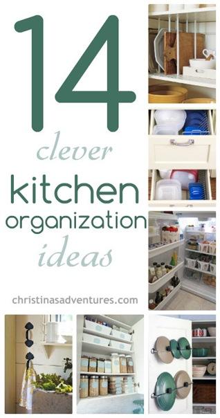 14 Kitchen Organization Ideas