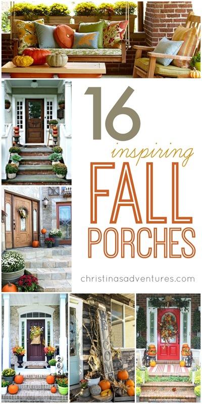 16 Inspiring Fall Porches