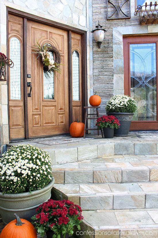 16 Inspiring Fall Porch Decorating Ideas Christinas