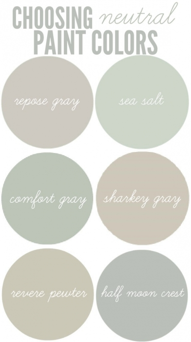 Choosing neutral paint colors christinas adventures - What are neutral colors ...
