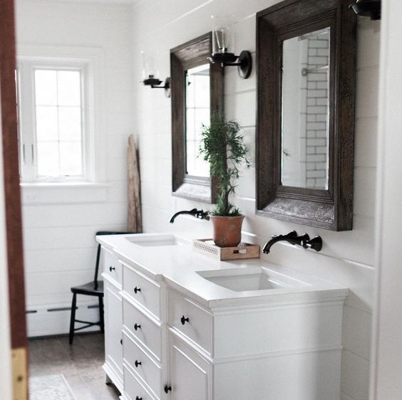 249 Best Images About Builddirect Diy Inspiration On: Farmhouse Bathroom Inspiration