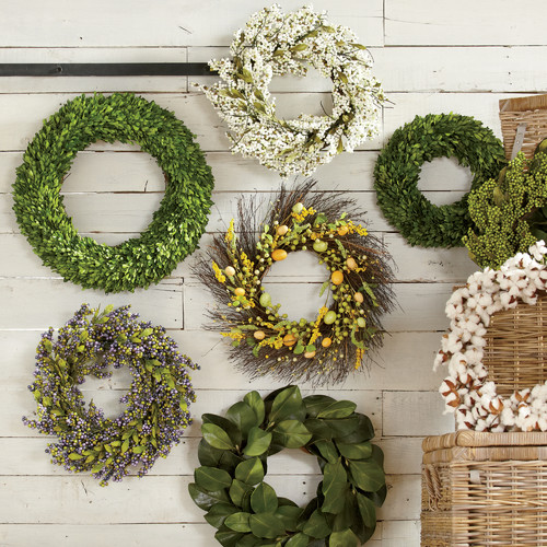 The best places to find farmhouse wreaths online ...