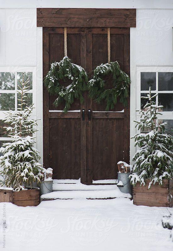 Winter Farmhouse Decorating Ideas Christinas Adventures