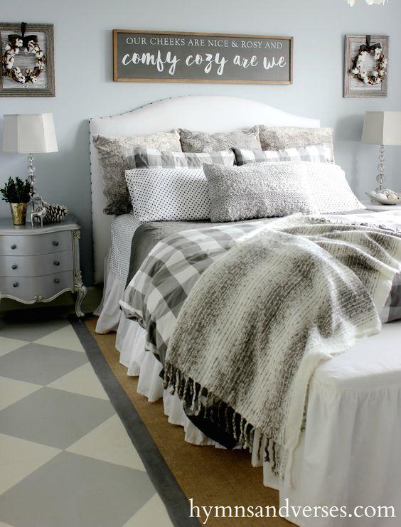 e2e4cc1d978b315f28f8add88ca1d2d8 - 18+ Small Bedroom Farmhouse Decor Pics
