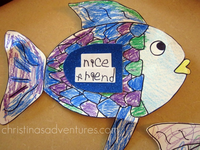 Teaching about friendship with the rainbow fish for How to get a job at michaels craft store