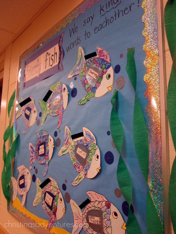 Classroom Ideas Halloween ~ Teaching about friendship with the rainbow fish