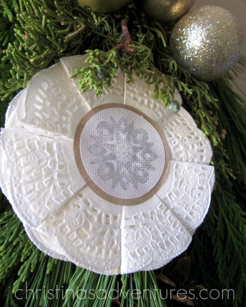 Doily Ornament {how to}