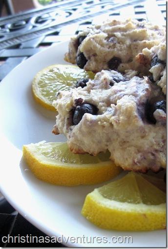 Lemon Blueberry scones