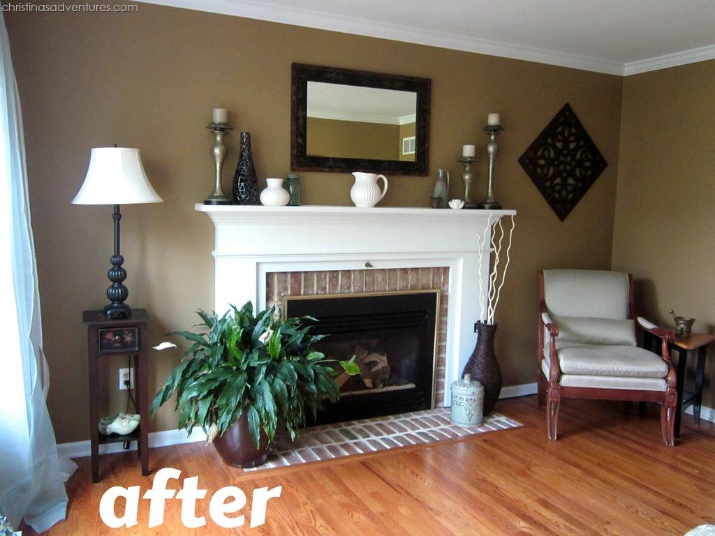 Living Room Make Over Tan White Blue Christina Maria Blog