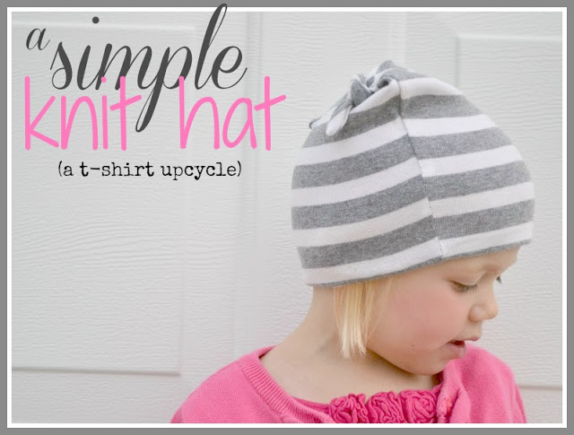 GP: Bugaboo, Mini, Mr. & Me: T-Shirt to hat upcycle