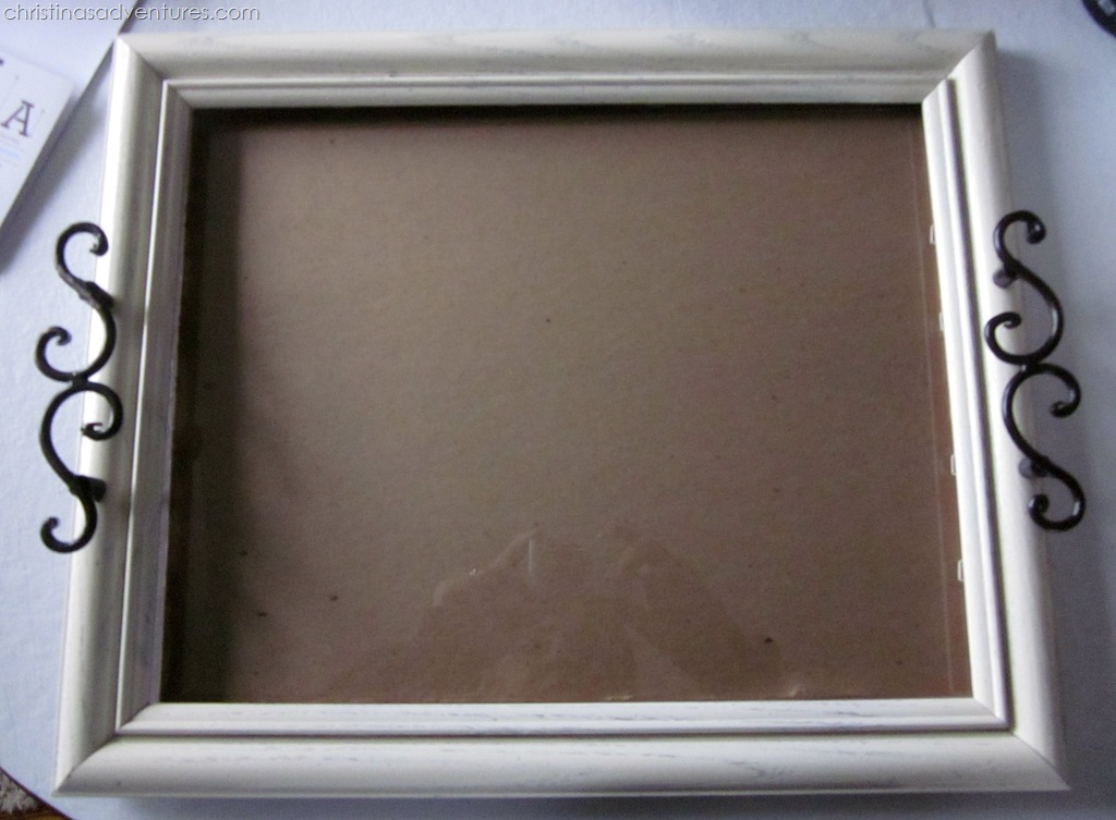 Picture Frame Tray Martha Stewart Paints