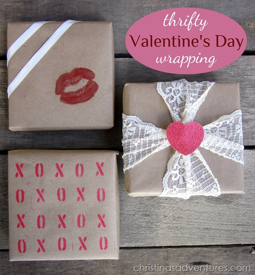 valentines day wrapping