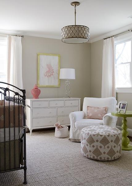 Neutral Baby Girl Nursery: 15 Neutral Nursery Ideas