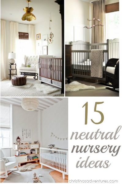 These beautiful neutral nursery ideas will leave you inspired to tackle your own space! Lots of wood tones, white, and budget friendly DIY ideas included!