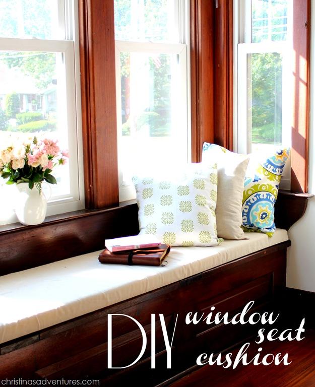 Diy Window Seat Cushion Christinas Adventures