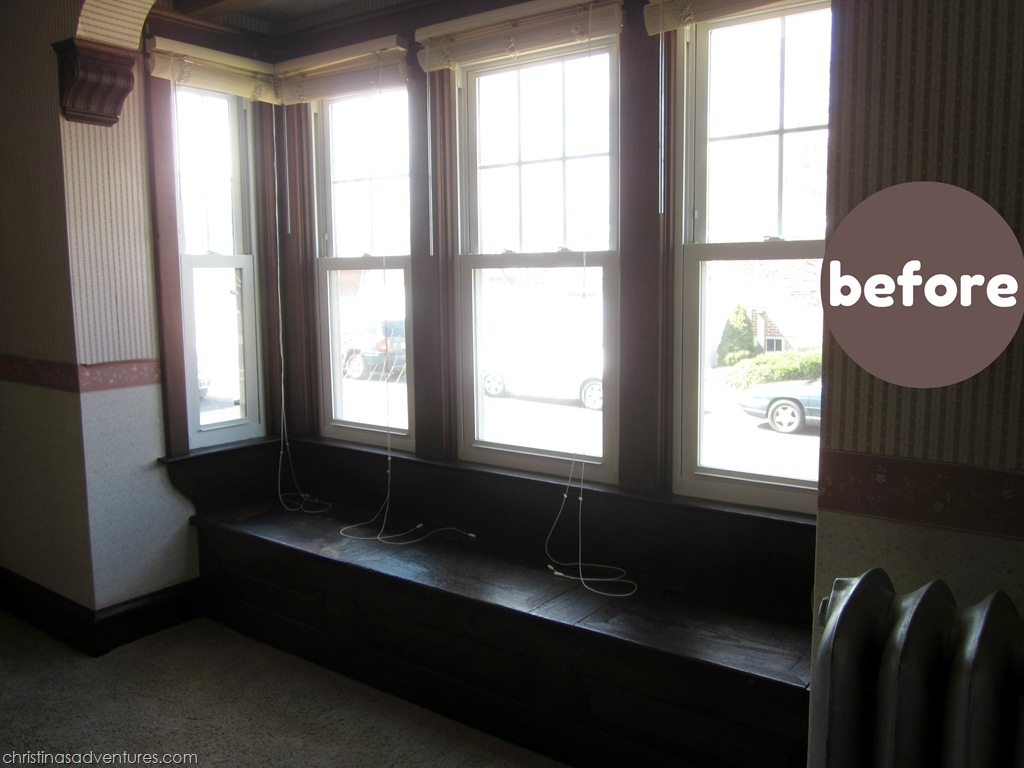 DIY Window Seat Cushion - Christinas Adventures
