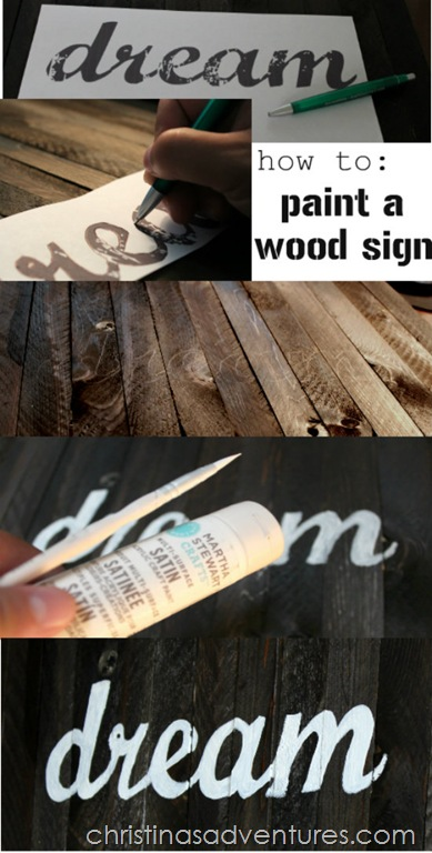 Wooden Shim Wall Art How To Paint A Wood Sign