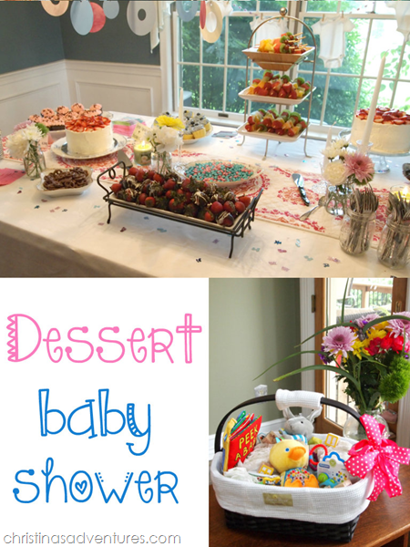 Dessert Baby Shower Christinas Adventures