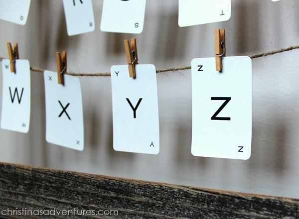 vintage alphabet art 2