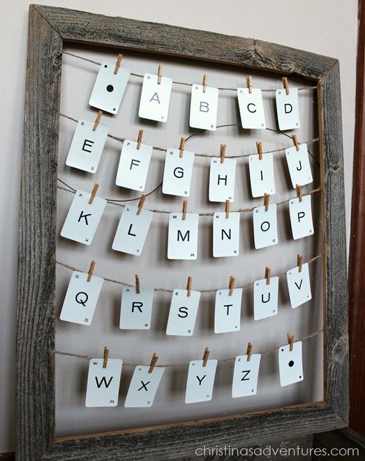 vintage alphabet art 4