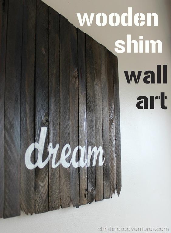 wood diy wall art