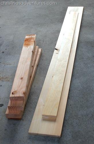 diy sofa table wood
