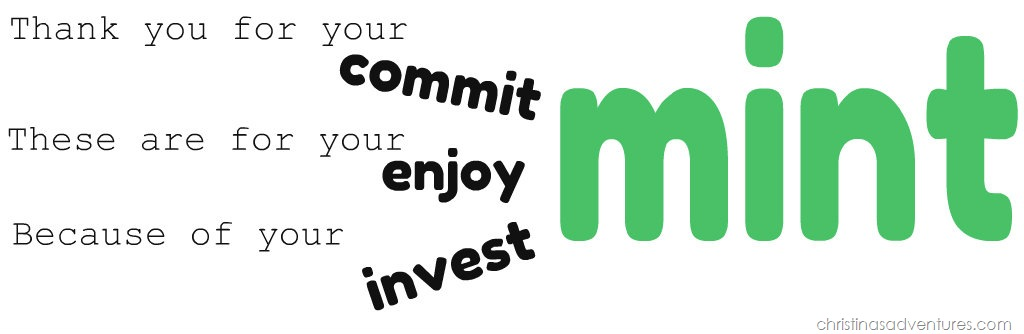 Critical image regarding thank you for your commit mint printable