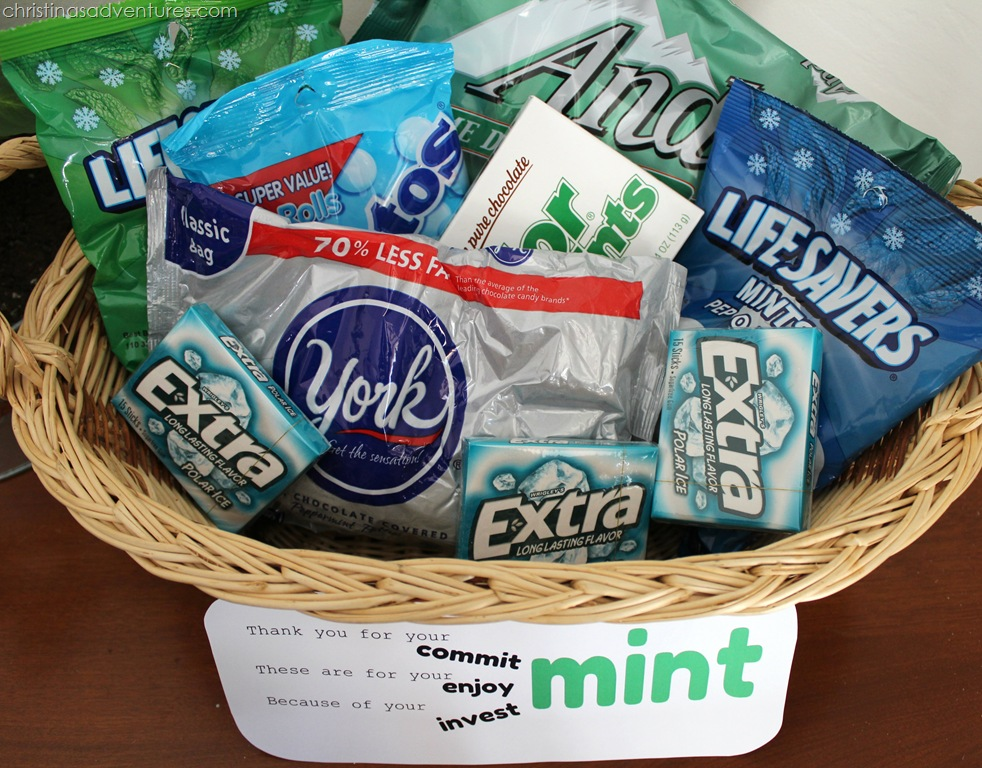 thank you gift basket ingredients