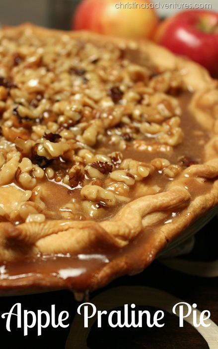 Apple Praline Pie recipe
