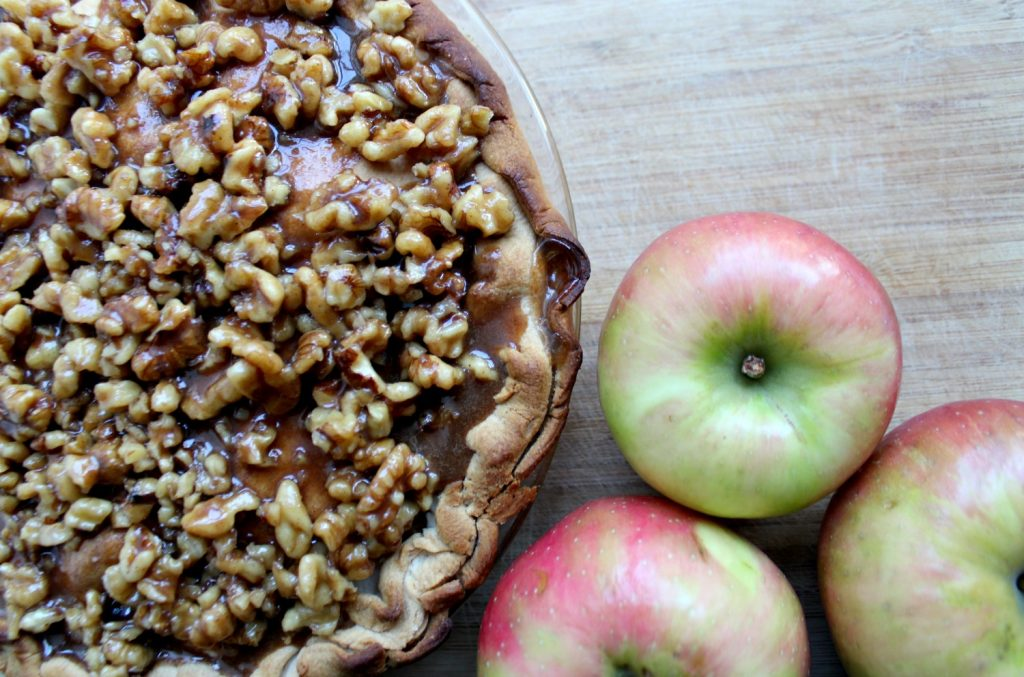 Apple Praline Pie - Christinas Adventures