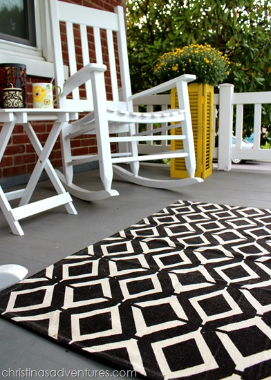 front porch rug
