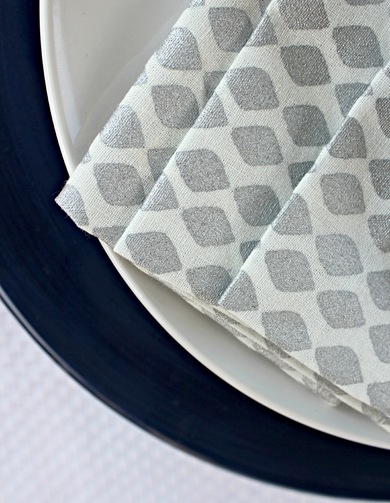 west elm ikat napkins
