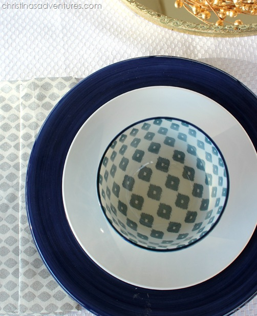 west elm table setting