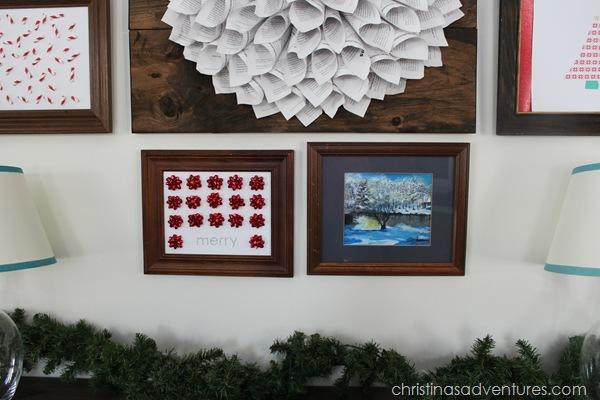 Christmas gallery wall bottom
