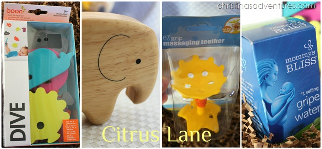 Gifts for tired moms { Citrus Lane Giveaway }