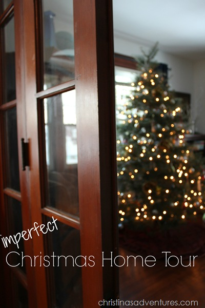 imperfect Christmas home tour