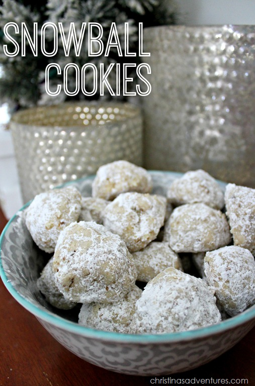 Snowball Cookies
