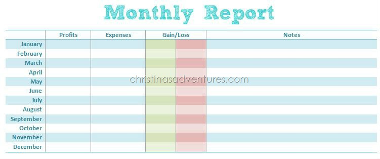 Doc808558 Monthly Expenses Report Monthly Expense Report – Printable Expense Report