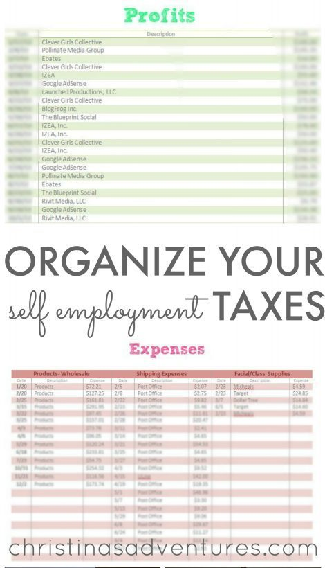 Organize Small Business Taxes  Free Business Printables