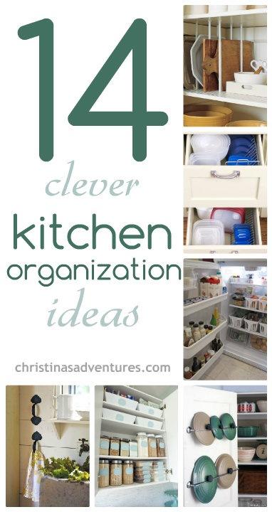 14 kitchen organization ideas christinas adventures