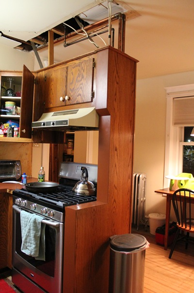 Lighten Up The Kitchen By Removing Some Cabinet Doors