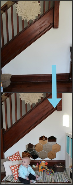 Transform the space under the stairs
