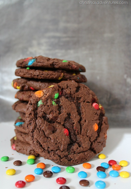 These monster cookies were kind of my trademark. I think I may have ...