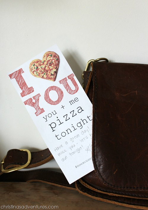 Pizza Night Invitation