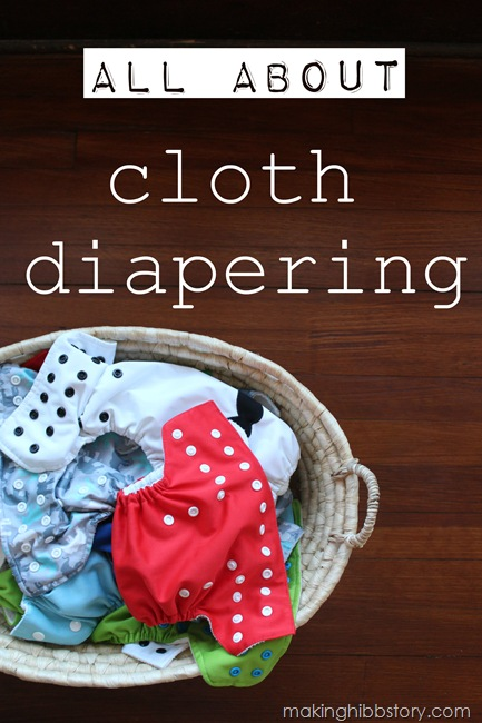 all about cloth diapering