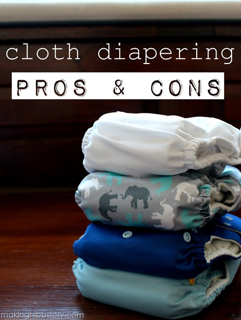 cloth diaper pros and cons
