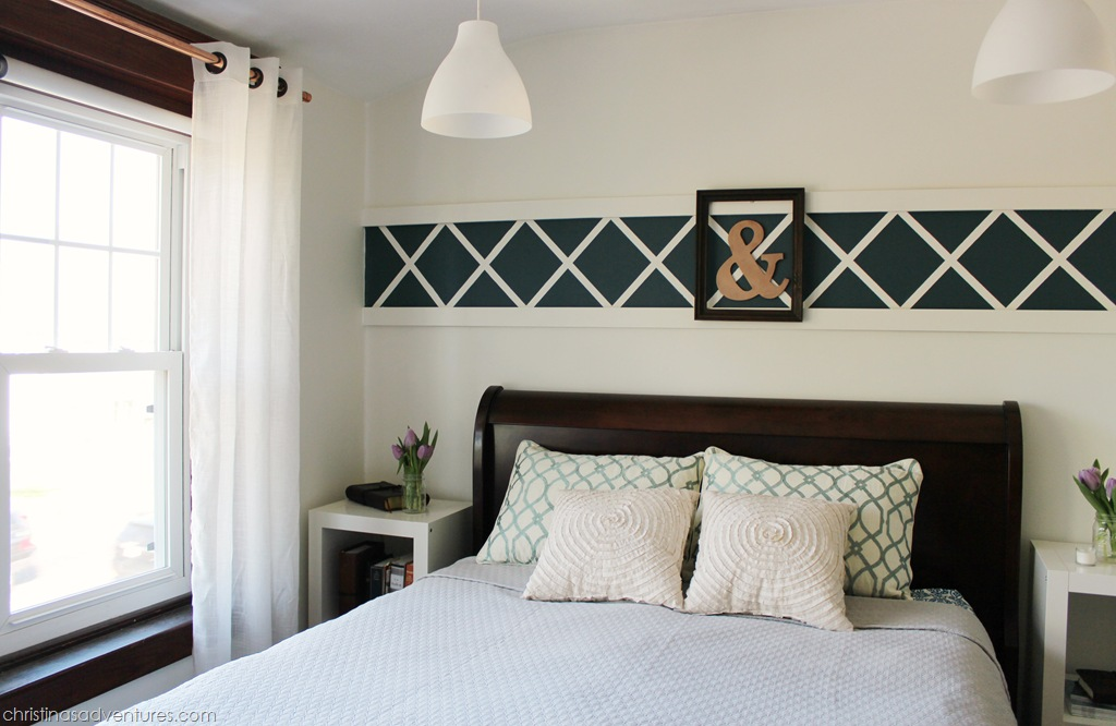 Our Master Bedroom: Above the Bed Decor - Christinas ...