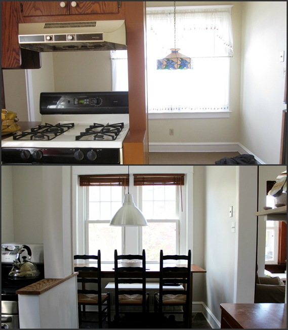 Craftsman Kitchen Before and After