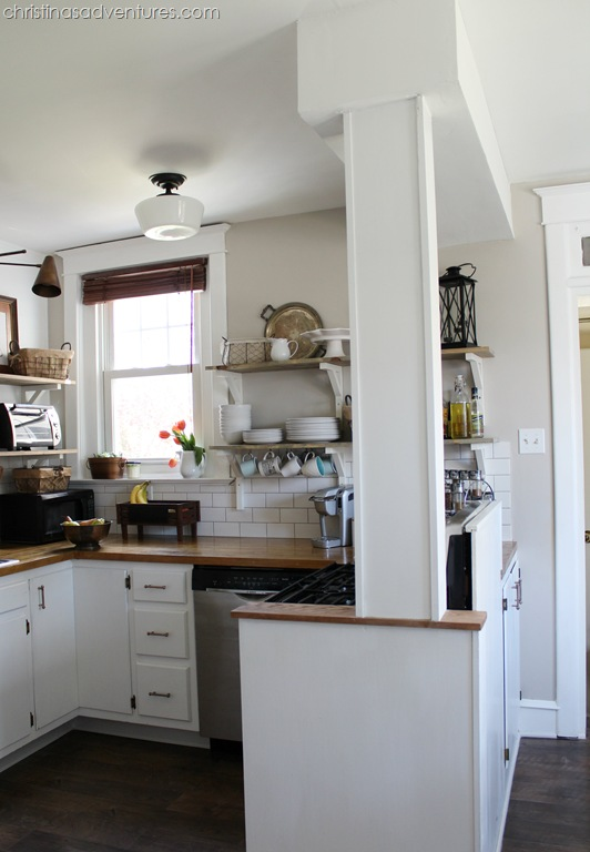Our Kitchen: All the details & the final cost - Christinas Adventures