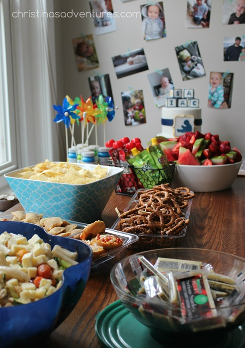 Simple birthday party food